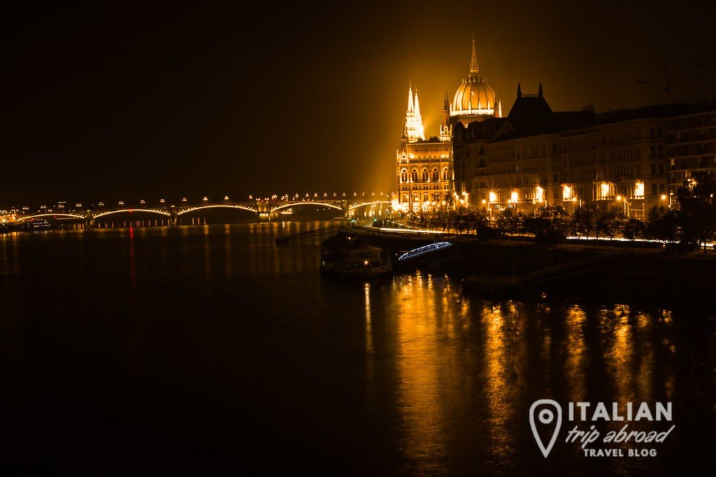 Photography of Budapest at night - Hungary Parliament