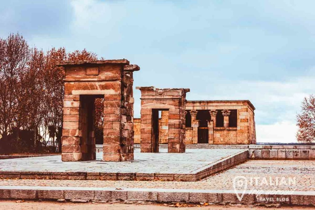 Temple di Debod - Greek Ruins of Madrid - Instagrammable places in Madrid