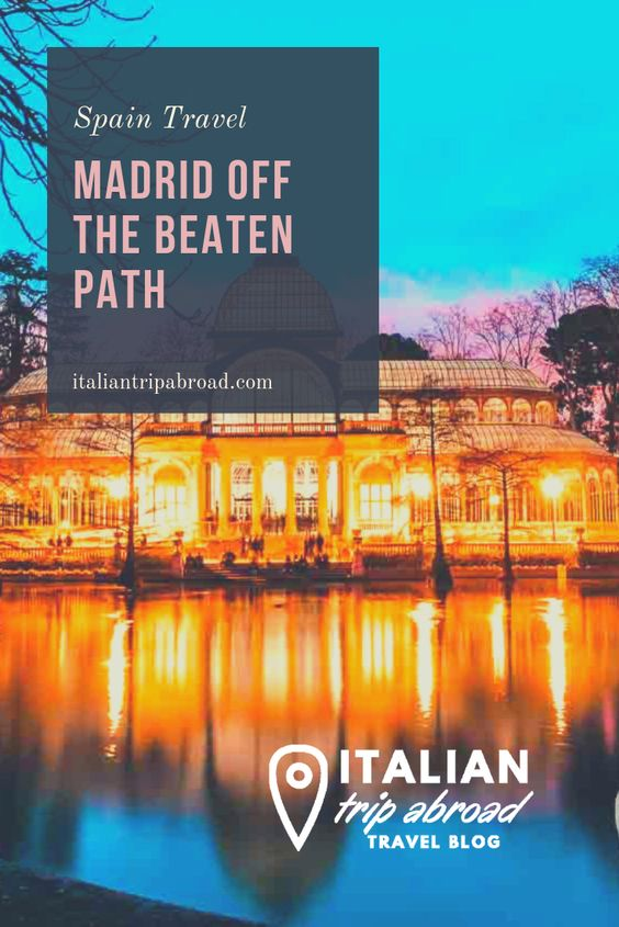 Madrid off the beaten path