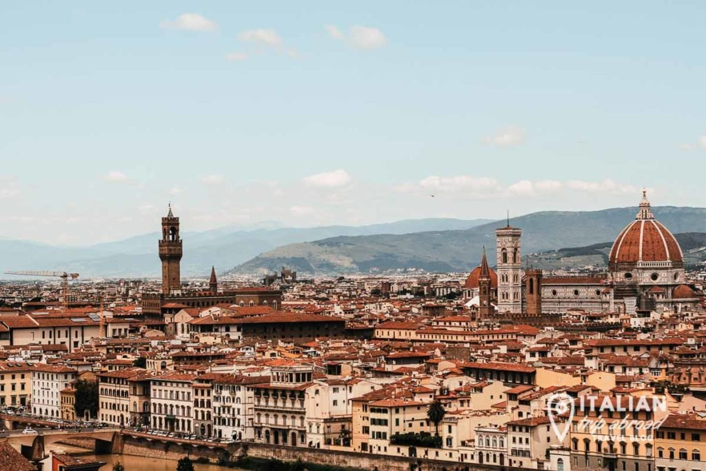 Piazzale Michelangelo or Michelangelo Square is covered in our itinerary of Florence in 2 days