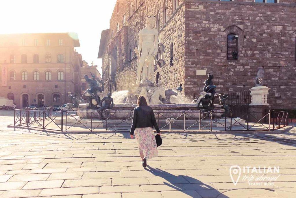 Piazza della Signoria - Instagrammable spots in Florence