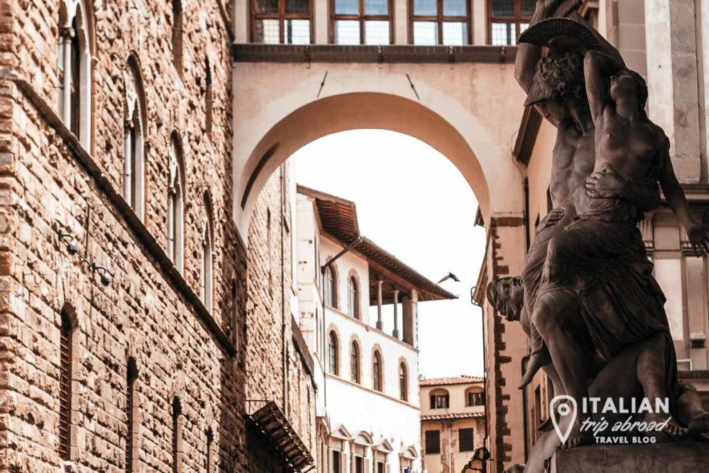 View from Loggia della Signoria - Masterpieces photos of Florence