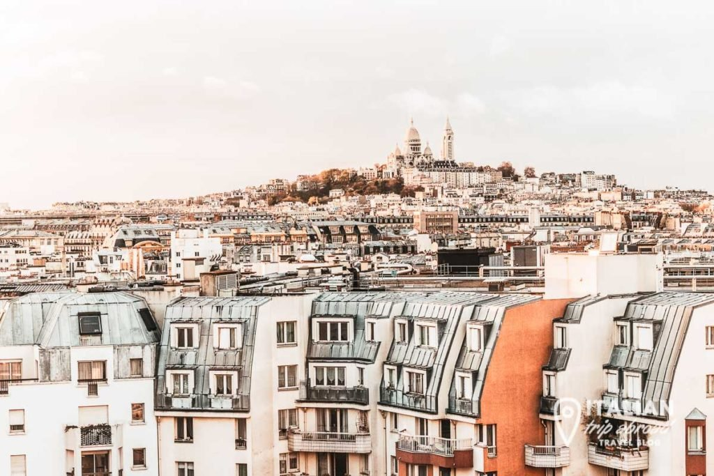 Paris roofs for the best landscape of Paris
