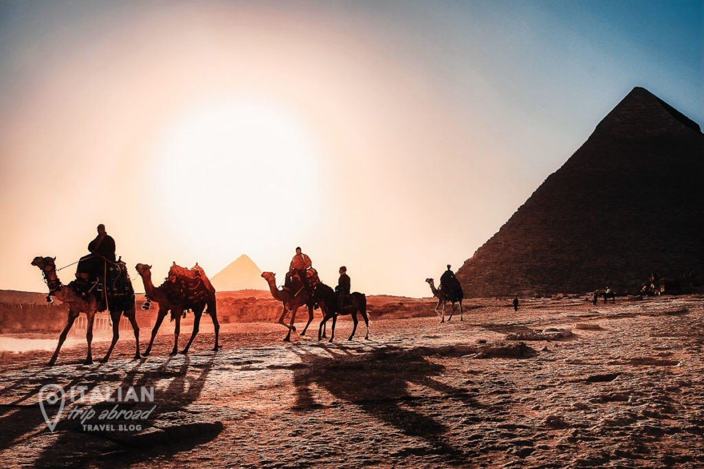 Fastest growing tourist destinations - Egypt - Pyramids landscapes typical scenario in Egypt Africa