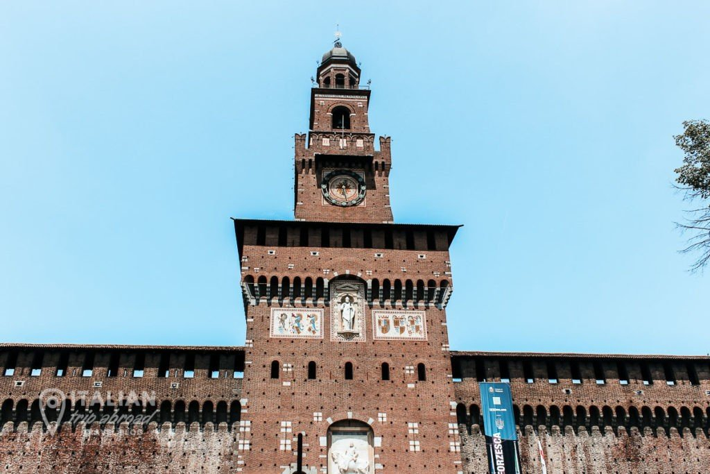 Milan in one day - Castello Sforzesco