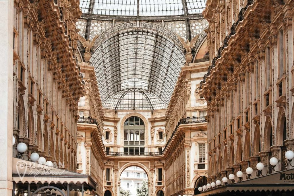 One day in Milan Italy - Galleria Vittorio Emanuele