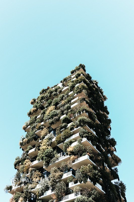 Pictuers of Milan Italy - Bosco Verticale