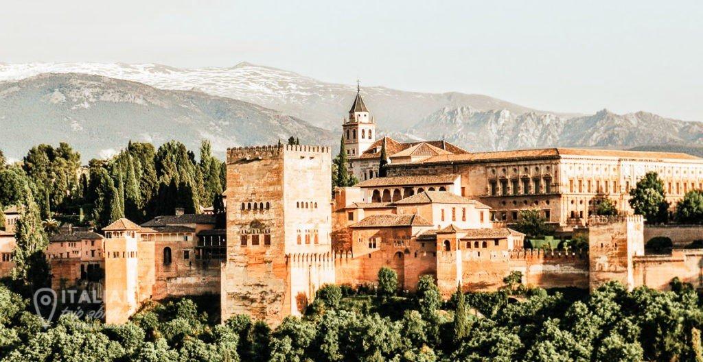 Spain- Alhambra-Granada - Architecture