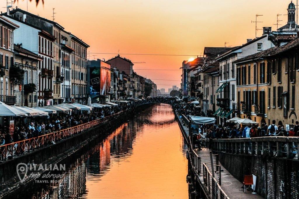 Visit Milan - Nightlife in Milan Italy - Naviglio Grande