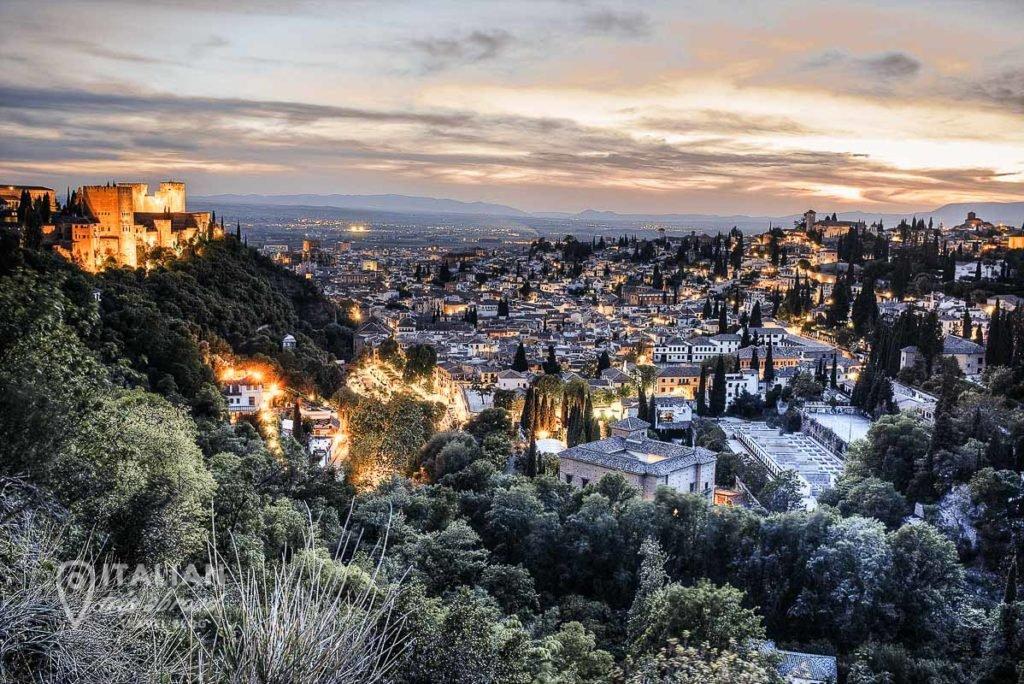 Granada Landscape - How to spend 2 days in Granada Itinerary