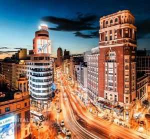Top rooftop bars in Madrid