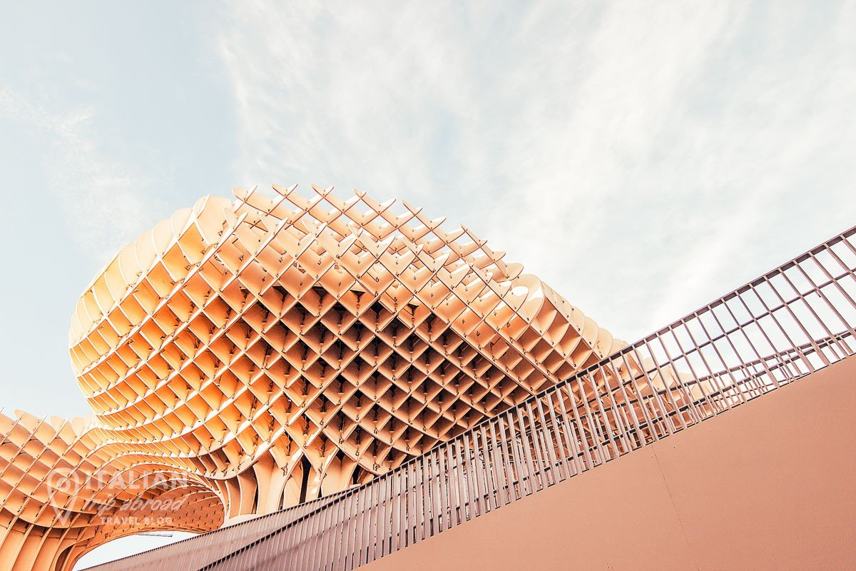 Metropol Parasol of Sevilla - Downview photo - Visit Sevilla is the best way to enjoy your day trips from malaga