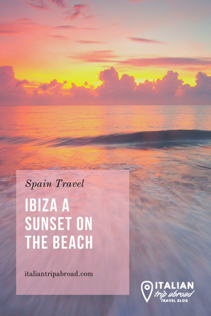 Enjoy a beautiful sunset in Ibiza from the beach