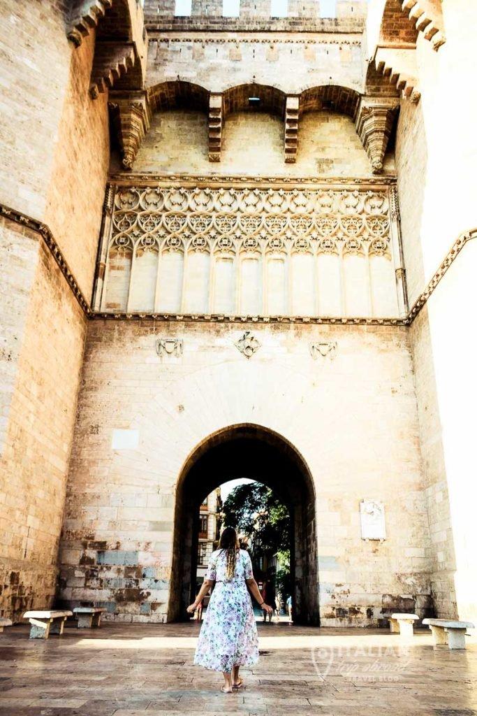 Instagrammable Valencia - Torre de Serrano