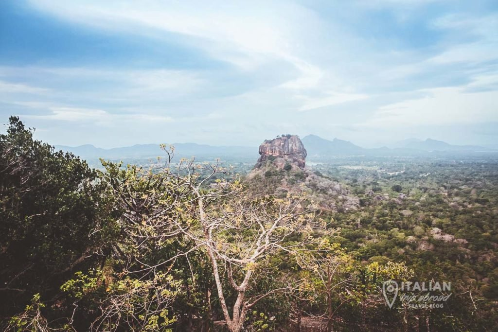 Pidurangala Rock Hike - view over Sigiriya