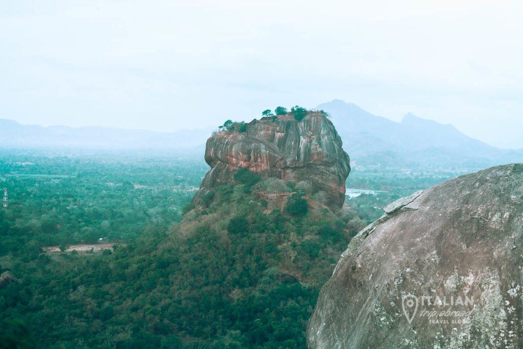 Pidurangala Rock Hike - View