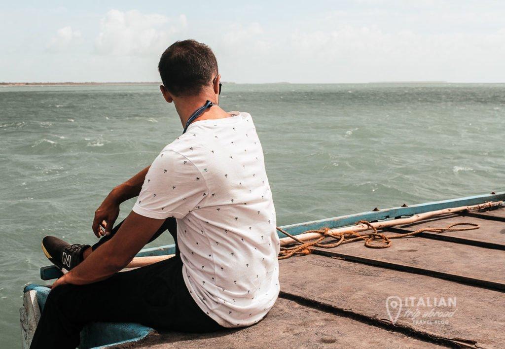 Boat to Nainativu Island