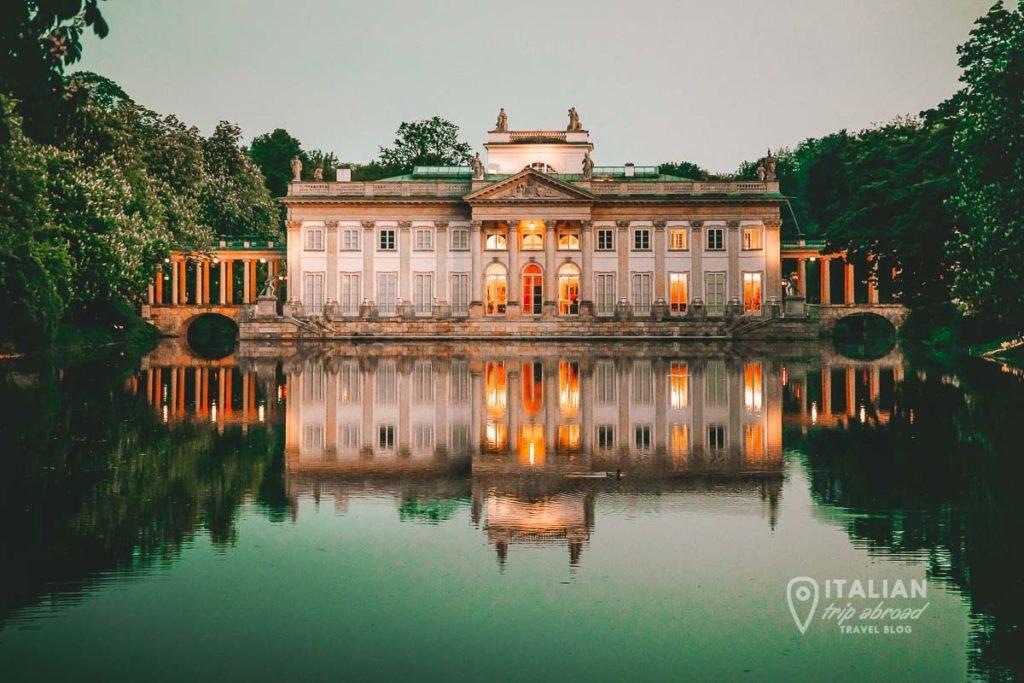 Lizienki Palace - Warsaw - Poland
