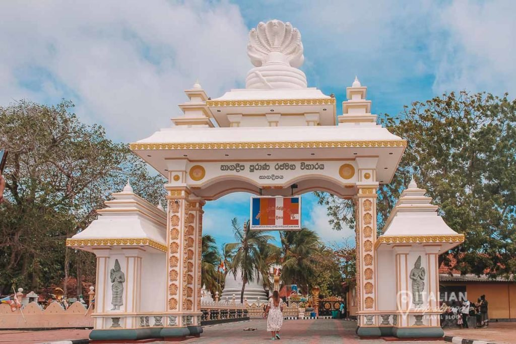 Nagadeepa Buddhist Temple Jaffna - Sri Lanka itinerary 10 days