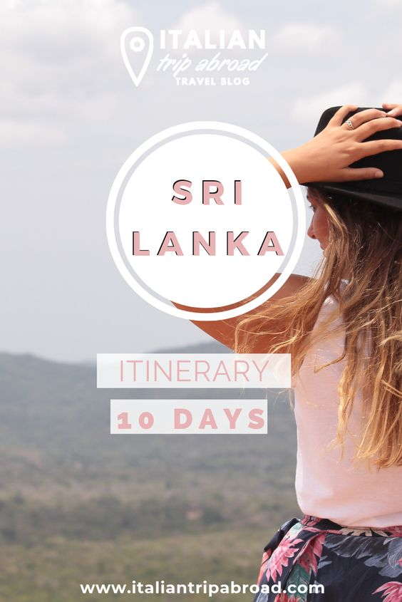 Sri Lanka itinerary 10 days