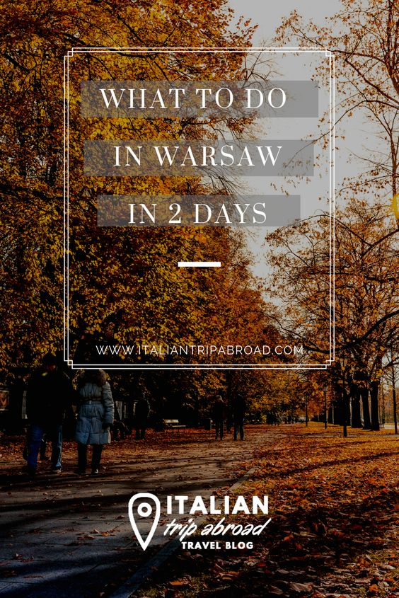 What to do in Warsaw - Poland