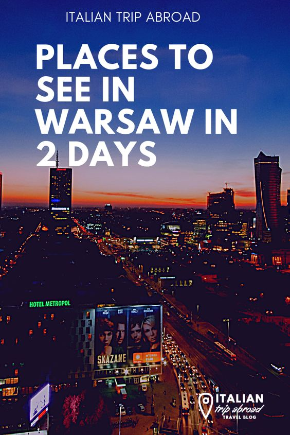 warsaw in 2 days - Pin Me!