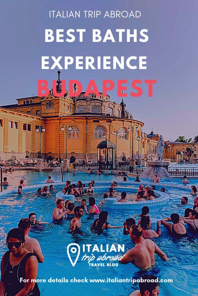 Best baths experience in Budapest