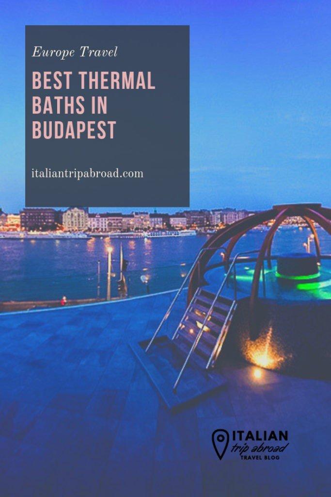 Best baths in Budapest