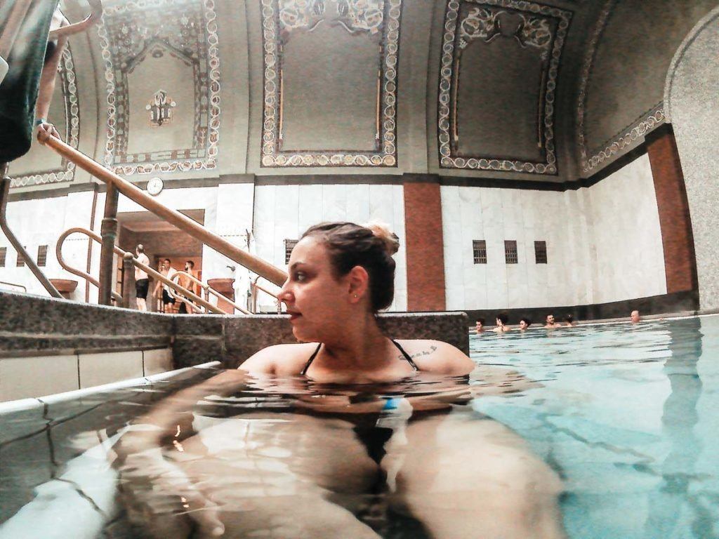 Relaxing day at the Gellért Spa and hotel of Budapest