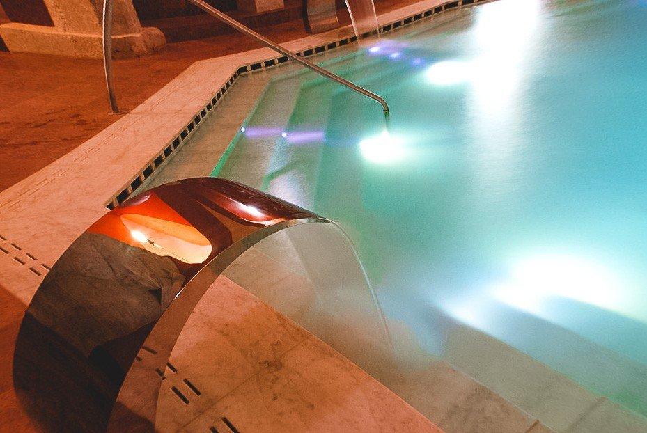 Veli Beji renowed indoor swimming pool