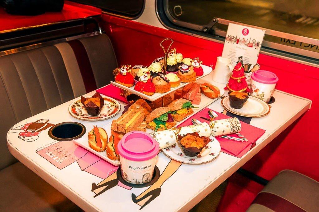 Christmas menu B bakery London