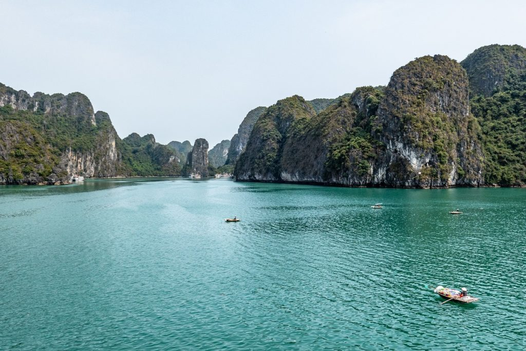 The most spectacular seascape in Asia from a Bay