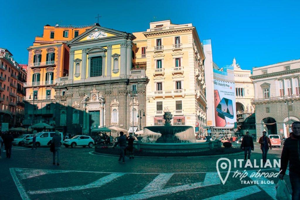 Naples, Piazza San Nazzaro - San Carlo's Piazza