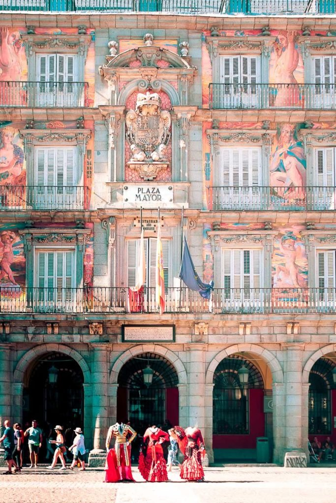 Main square of Madrid - Plaza Mayor - Instagrammable Madrid