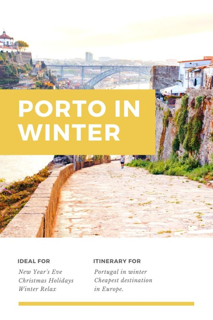 Porto in wintertime is magical
