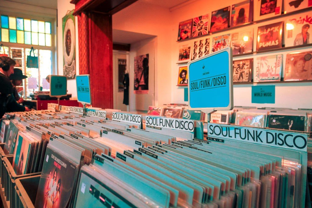 Record shops of Hamburg - Zeus Records