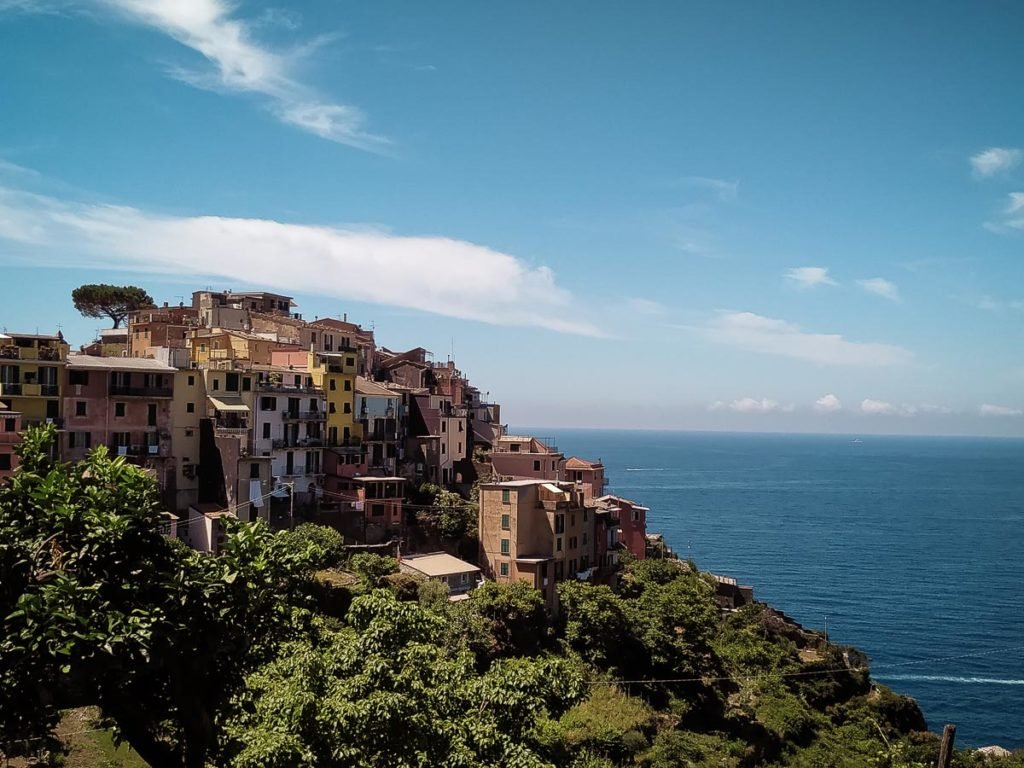 Corniglia - The best view of Cinque Terre Italy