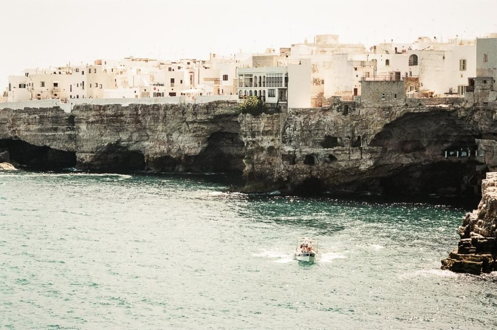 Polignano a Mare is the last stop on our Italy Road Trip Itinerary in Puglia