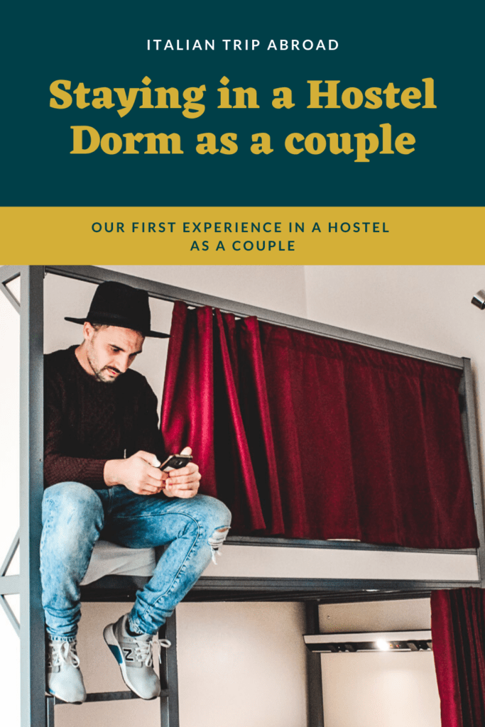 A Couple staying in a Hostel Dorm