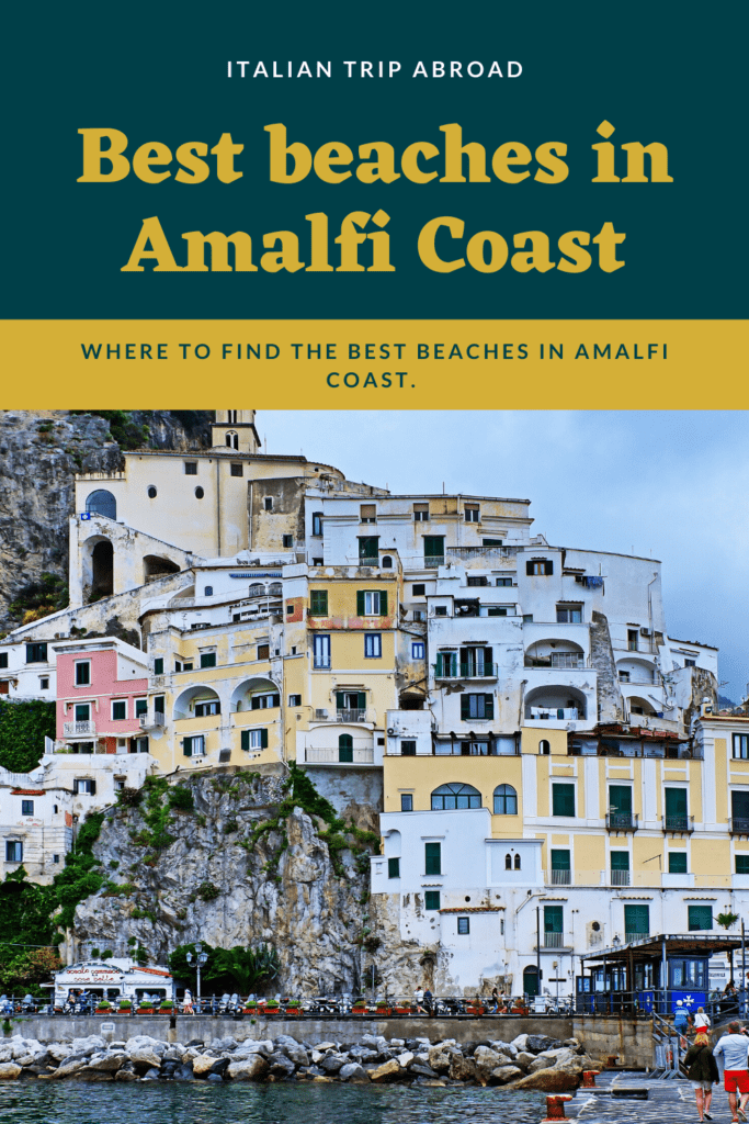 Best beaches in Amalfi Coast Italy