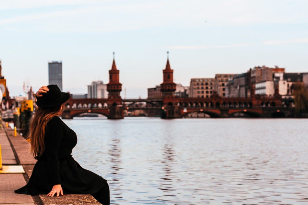 Berlin Instagram spots - Oberbaum Bridge - River Spree -  The most inspiring Instagram Spots in Berlin for Toti