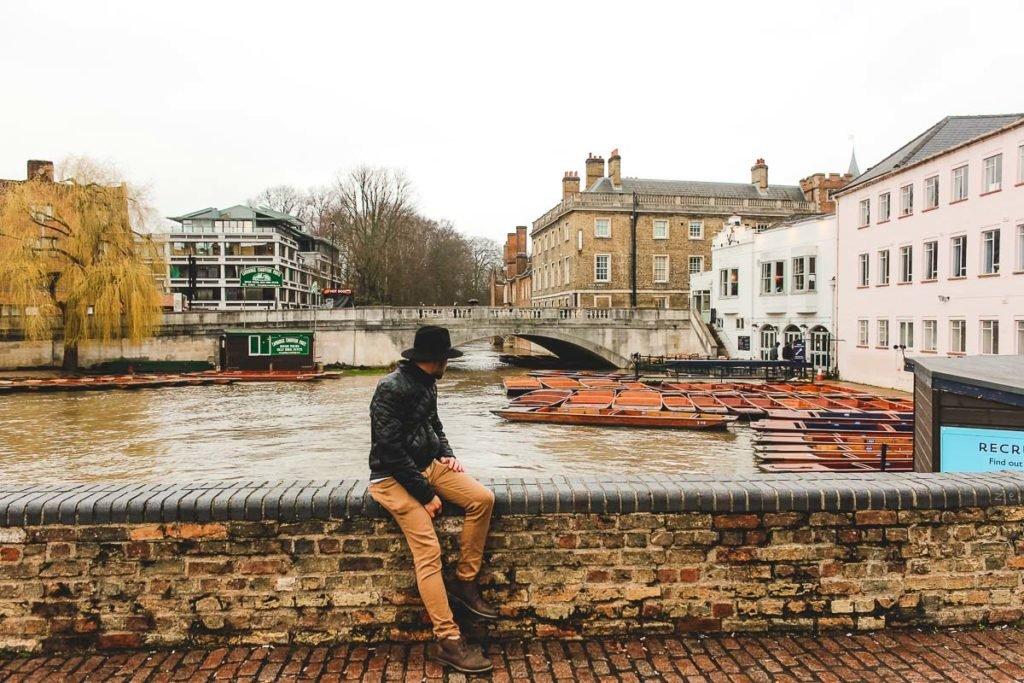 Cambridge view from bridge