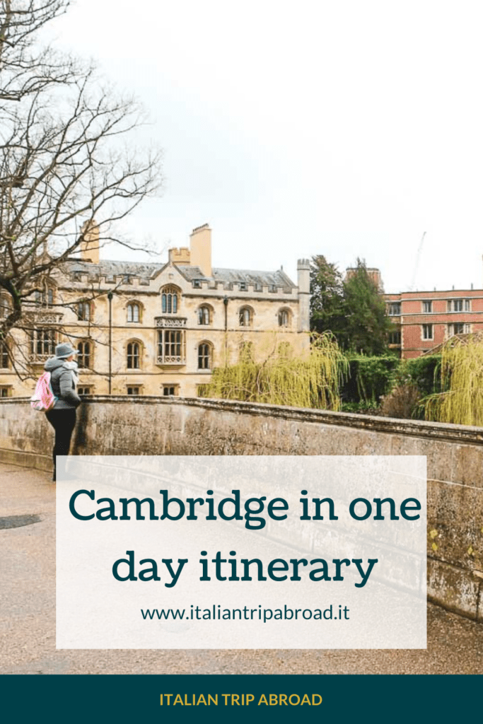 Cambridge one day itinerary