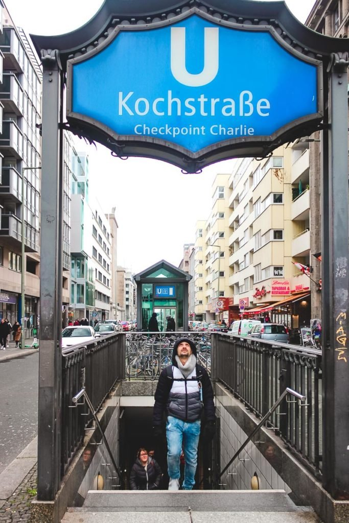 Checkpoint Charlie Metro Station - Top photography places in Berlin Germany