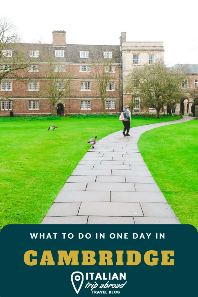 How to spend one day in Cambridge