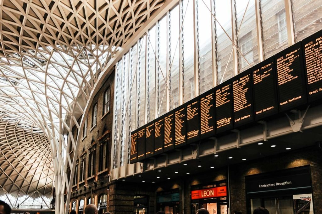 King's Cross Station - How to reach cambridge from London by train
