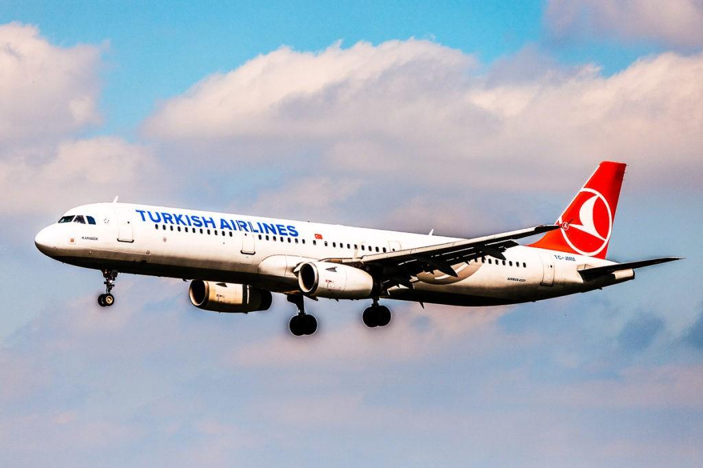 Turkish Airline Long haul flights fleet