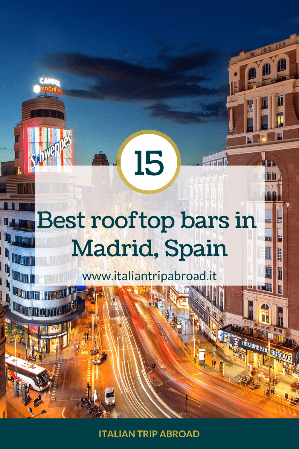 Madrid Rooftop Bars