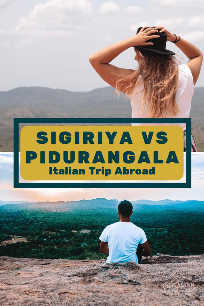 Pidurangala vs Sigiriya