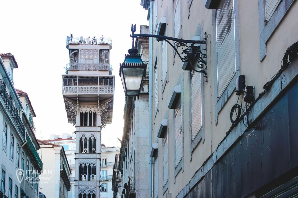 Chiado District in Lisbon